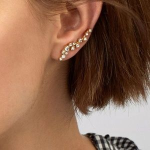 NEW Baublebar Farah Ear Crawler Earrings